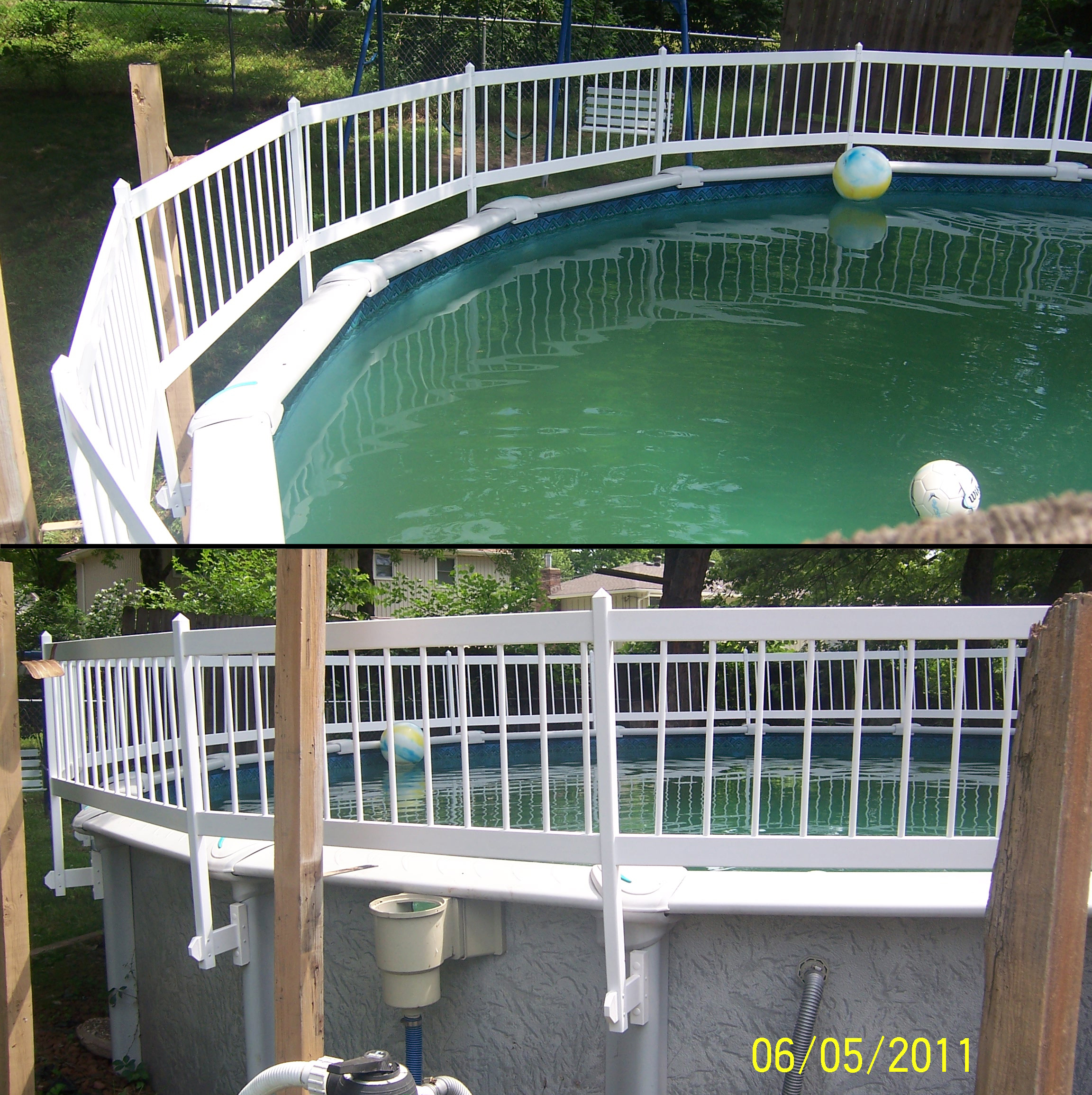 Above ground pool fences how to make fence