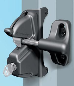 D&D Technologies Deluxe Lock Latch Keyed Alike - Deluxe Lock Latch - Black (LLDAB-KSA)
