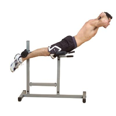 Body Solid Roman Chair (PCH24W) | Back Hyper | Home Workout Equipment