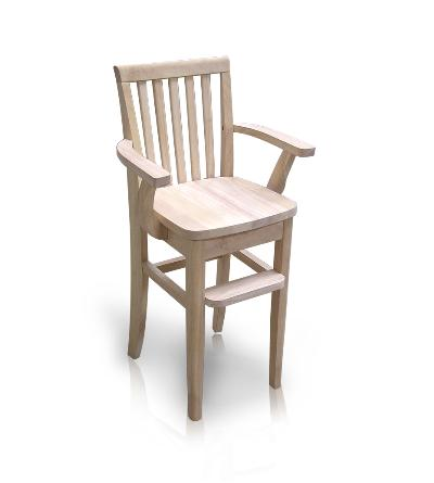 Rustic Style Youth Mission Chair (CC-265)