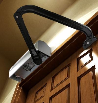 Estate swing heavy duty carriage door opener kit e scar for Swing out garage doors price