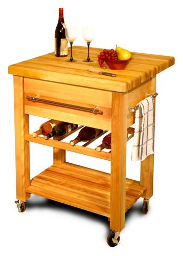 Baby Grand Workcenter with Drop Leaf and Wine Rack (Product ID = 2008)Baby Grand Workcenter with Drop Leaf and Wine Rack (Product ID = 2008)--Unfinished