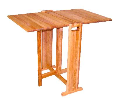 Fold A Way Butcher Block Table Product Id 1622 Us