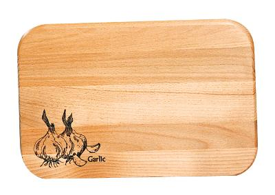 Model 1207 Board with Garlic Brand (Product ID = 1208)