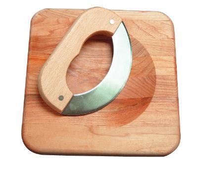 Chopping Board with Mezzaluna (Product ID = 1215)