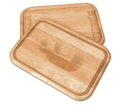 Versatile Meat Holding Wedge/Trencher Board (Product ID = 1314)