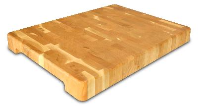 Contemporary End Grain Chopping Block (Product ID = 1368)