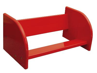 Red Table Top Book Rack (Product ID = 83307)