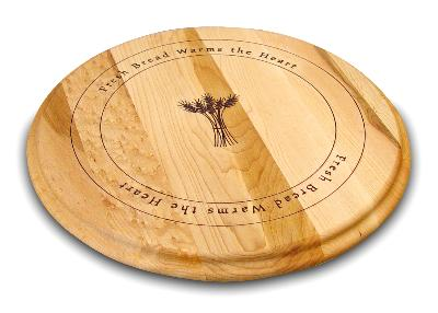 Round Branded Board with Fresh Bread Design (Product ID = 1389)