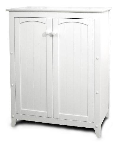 White Double Door Cabinet (Product ID = 89035)