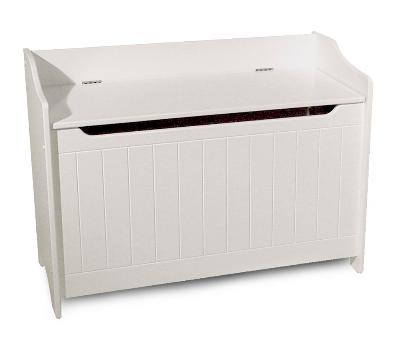 White Storage Chest/Bench (Product ID = 89095)