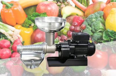 Fabio Leonardi MR10 1000W - 1 1/2 HP Electric Tomato Milling Machine, made in Italy