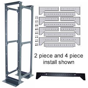 4 Piece Rack Conversion Kit by Kendall Howard (1927-3-004-00)