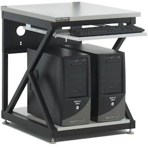 """24"""" Performance Work Bench with Full Bottom Shelf / No Upper Shelving by Kendall Howard (5000-3-300-24)"""