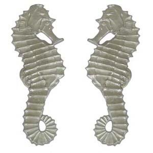 Decorative Aluminum Seahorse (Left and Right)