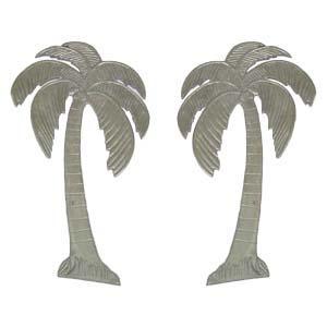 Decorative Aluminum Palm Tree (Left and Right)