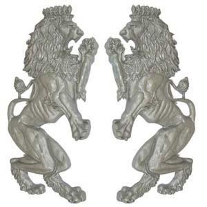 Decorative Aluminum Brittanic Lions