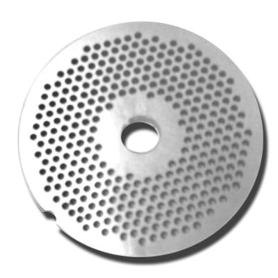 Weston / Pragotrade Stainless Steel Universal #5 Grinder (3mm) Fine Grinding Plate (63-0521)