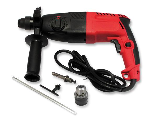 SDS Plus Multi-Function Rotary Hammer Drill with Snap In Standard Chuck