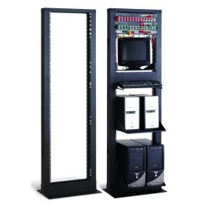 41U Cable Cove 2-Post Server Rack by Kendall Howard (1911-3-000-41)