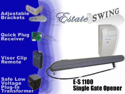 Estate Swing E-S 1100 Single Swing Gate Opener