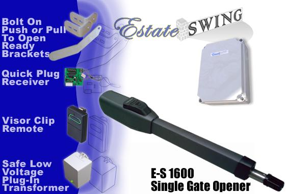 Estate Swing E-S 1600 Single Swing Gate Opener