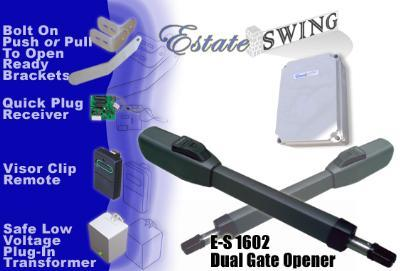 Estate Swing E-S 1602 Dual Swing Gate Opener