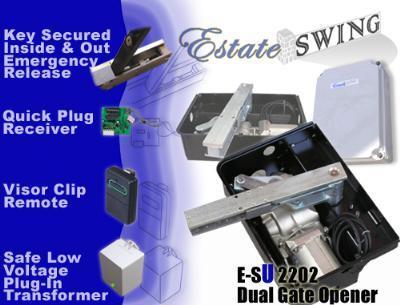 Estate Swing E-SU 2202 Dual Swing Underground Gate Opener