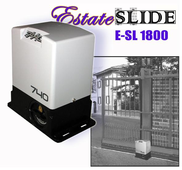 Estate Swing E-SL 1800 Single Slide Gate Opener
