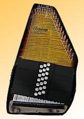 Oscar Schmidt Autoharp | Oscar Schmidt OS150FCE  Electric Autoharp