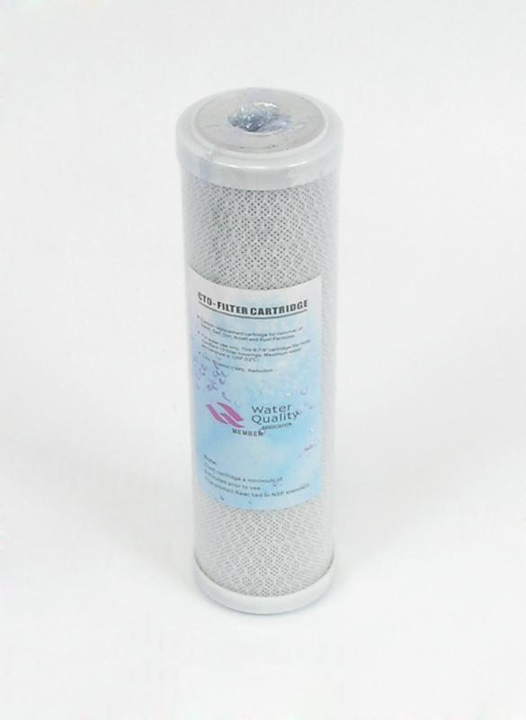 Reverse Osmosis Water Filtration Unit Solid Carbon Filters