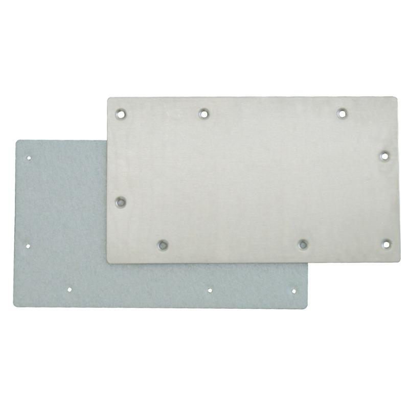 Stainless Steel Winter Plate for Wide Mouth Skimmers