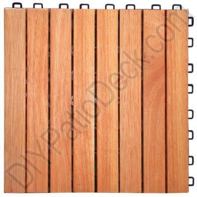Eucalyptus 8 Slat Exterior Tiles