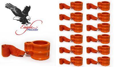 RV King Pin Lock (Eagle King Pin Lock) Keyed Alike <b>Set of 12</b>  - - With Safety Ribbon