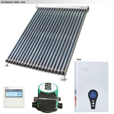 Gulf Stream Solar Kits for a Medium Family (3 to 4 people) - Medium Family - Zone 2 Solar Kit