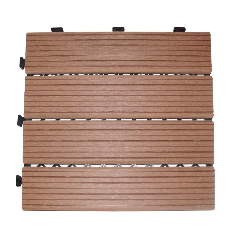 Deck 'n Go Composite Wood Decking Tiles - BROWN