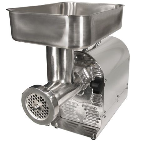 Weston #8 Pro-Series Meat Grinder and Sausage Stuffer (08-2201-W)