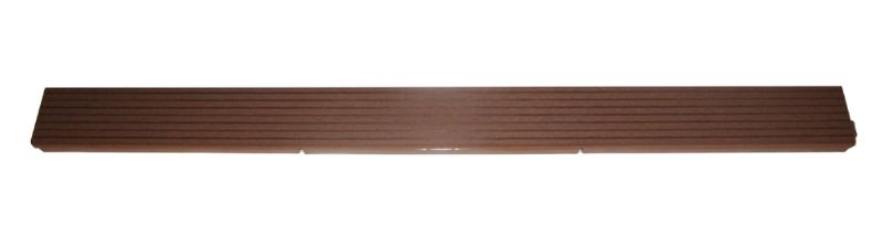 Deck 'n Go Edge Perfect Composite Wood Brown Edging Strips