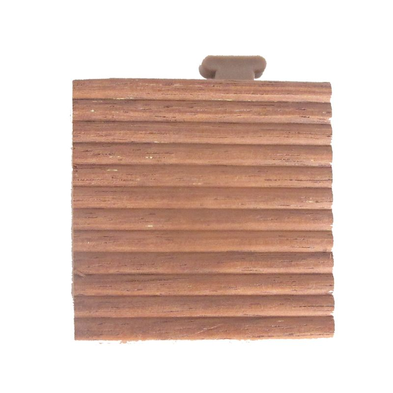 Deck 'n Go Edge Perfect Merbau Wood Corner Edging