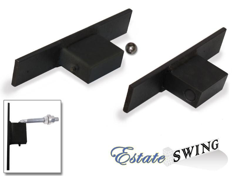 Estate Swing Safety Hinge Kit with Plates