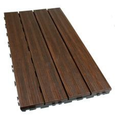 DassoXTR 1' X 2' click together Bamboo Tile