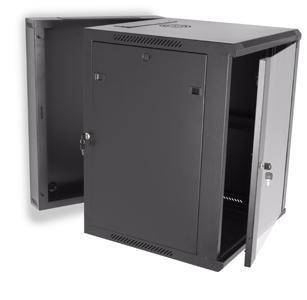 LINIER 15U Swing Out Wall Mount Server Rack by Kendall Howard (3130-3-001-15)