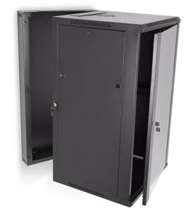 LINIER 22U Swing Out Wall Mount Server Rack by Kendall Howard (3130-3-001-22)