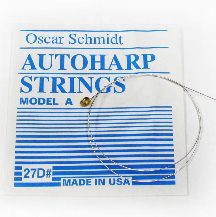Oscar Schmidt Autoharp Strings-Type A  (pre-1968 models)