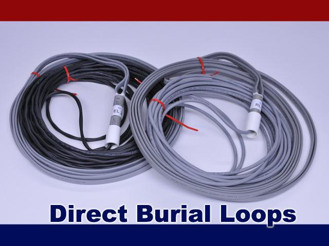BD Loops PreFormed Direct Burial Safety or Exit Loops w / 40 Ft. Lead  - 3' x 7' / 4' x 6'