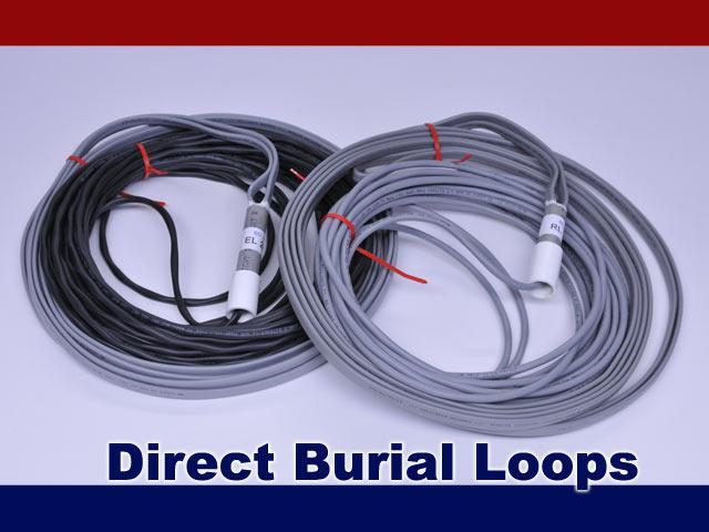 BD Loops PreFormed Direct Burial Exit Loops w / 100 Ft. Lead  - 3' x 9' / 4' x 8'