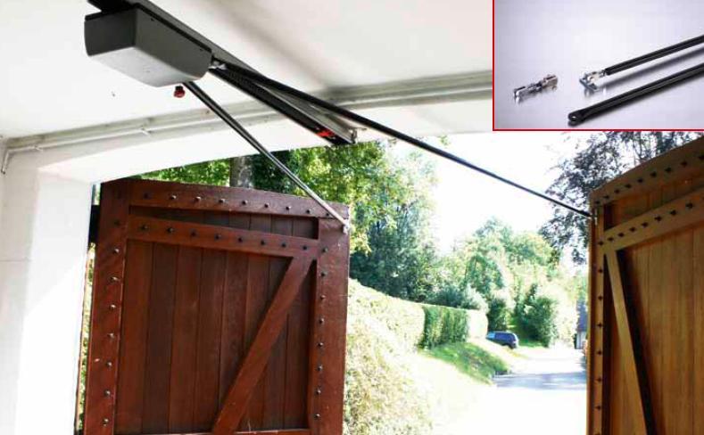 Sommer Ceiling Mount Carriage Door Opener 3 4 Hp Synoris 550n