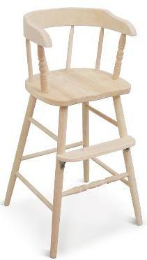 ... Custom Stained Whitewood Industries Youth Chair ...
