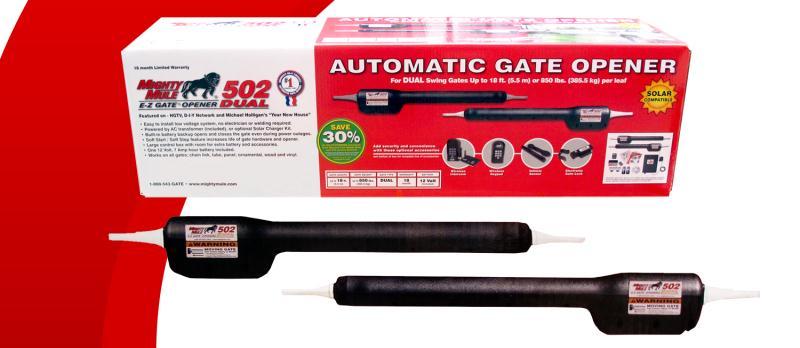 Might Mule FM502 Dual Swing Gate Opener (FM502)