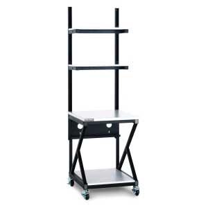 """24"""" Performance Work Bench with Full Bottom Shelf by Kendall Howard (5000-3-200-24)"""